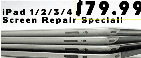 ipad screen repair dallas
