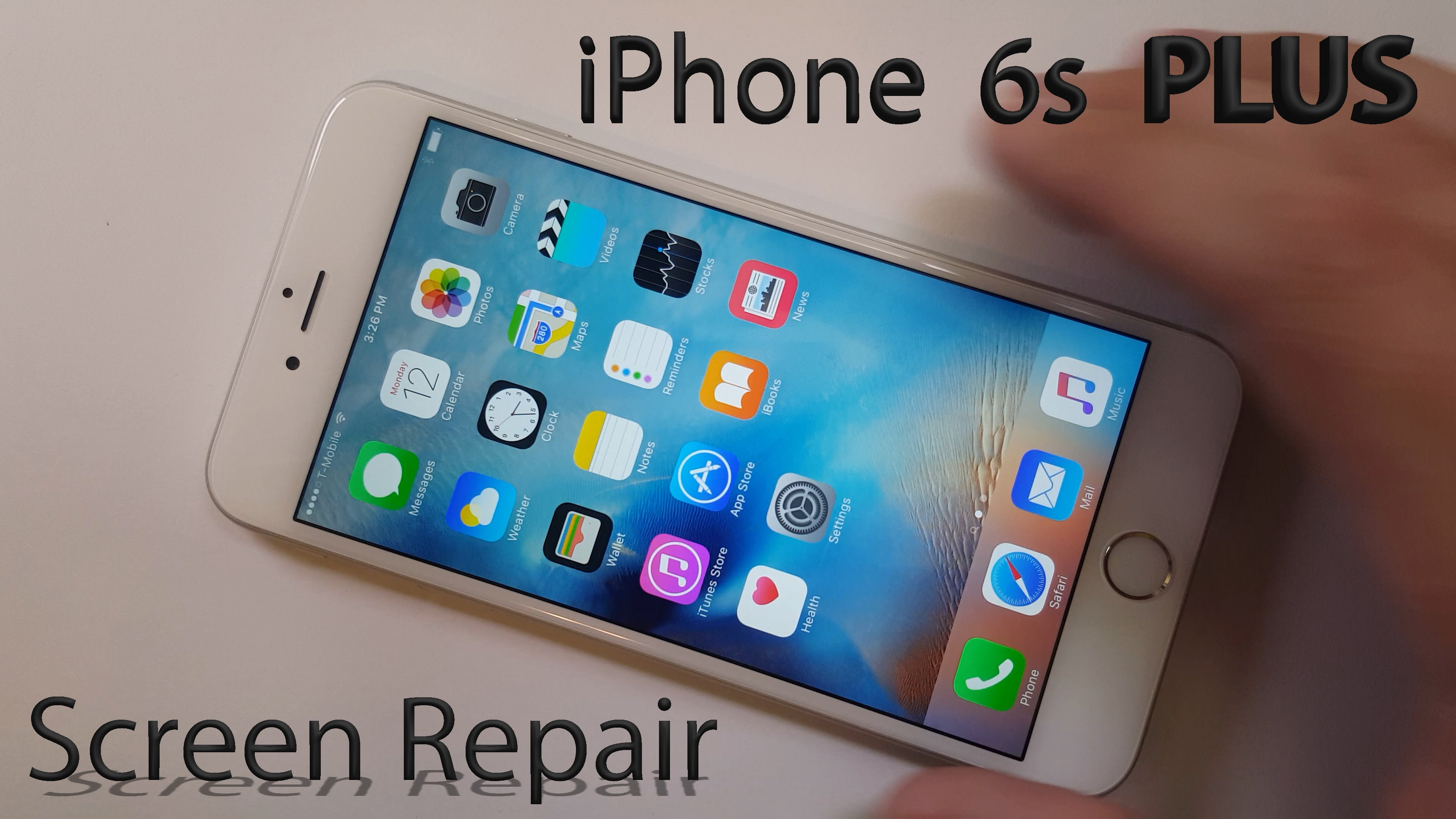 iPhone 6s Plus Screen Repair shown in 4 minutes Fix – Cell ...