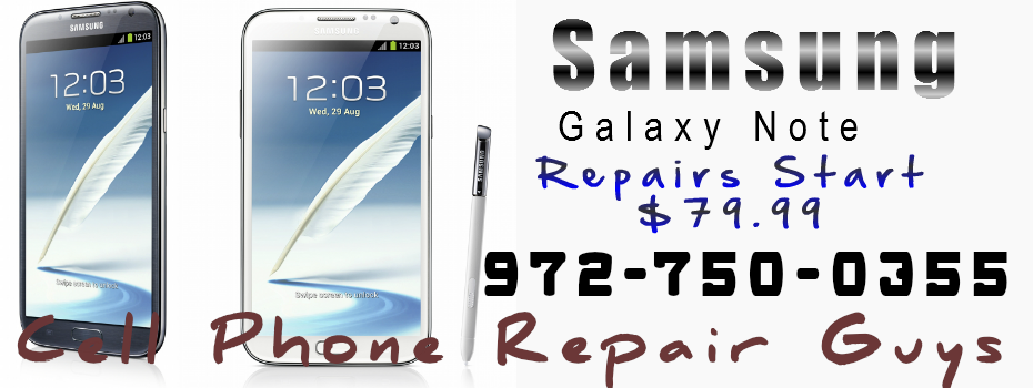 <blockquote><h3>Samsung Galaxy Note Screen Repair</h3>Samsung Galaxy S6, Galaxy S5, S4, Glass and AMO-LED screen repair Dallas, Texas</blockquote>